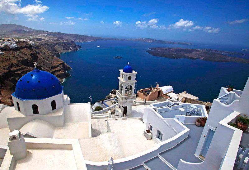 Mitsegeln Santorini