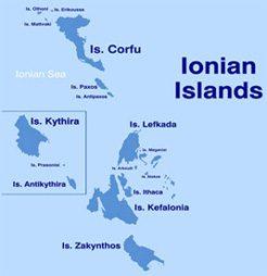 Ionische Inseln Inselhüpfen