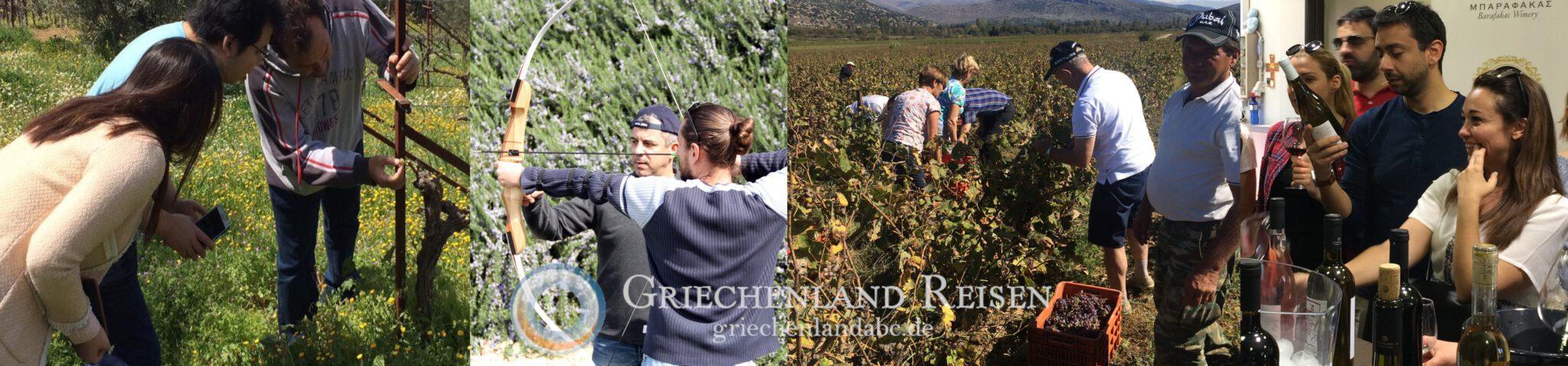 Rundreise Peloponnes Genuss Weinreise