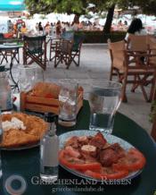 Abendessen wie Griechen