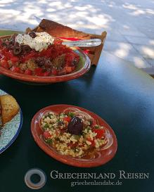 Essen Taverne Peloponnes