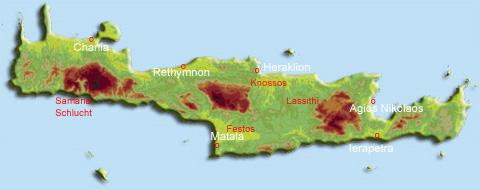 Über Kreta
