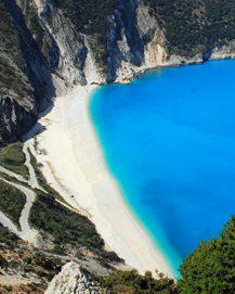 Schöne Strände in Griechenland