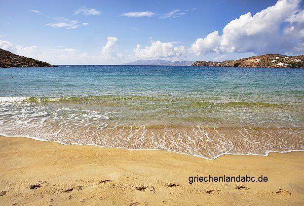 Strand Insel Ios