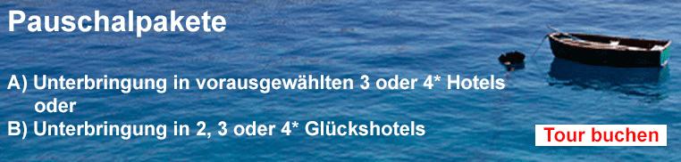 Pauschalpakete für Inselhüpfen Griechenland