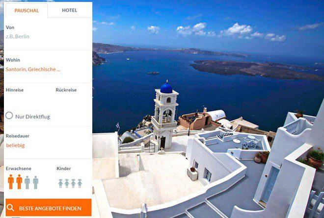 Santorini mit weiterenn Inseln der Kykladen kombinieren