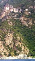 Kombination Region Berg Athos