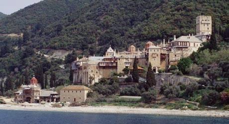 Kloster auf Berg Athos