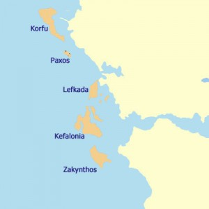 Die Ionischen Inseln