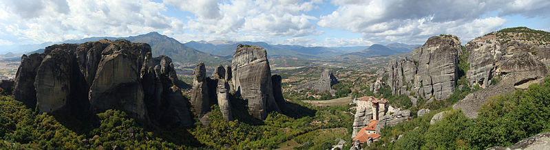 Wandern Meteora