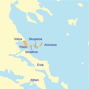 Inselhüpfen Griechenland Sporaden