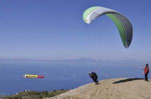 Gleiten in Griechenland