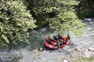 Rafting in Griechenland