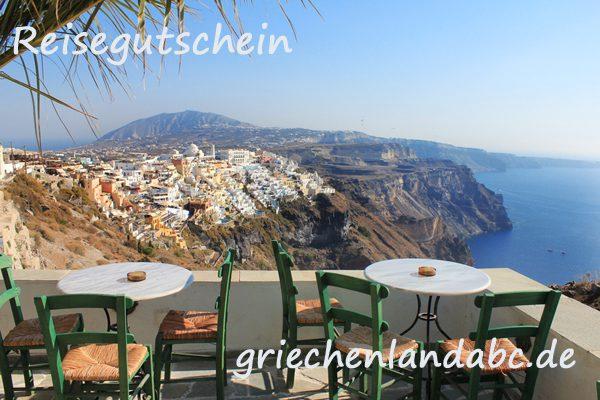Reisegutschein Griechenland Reisen