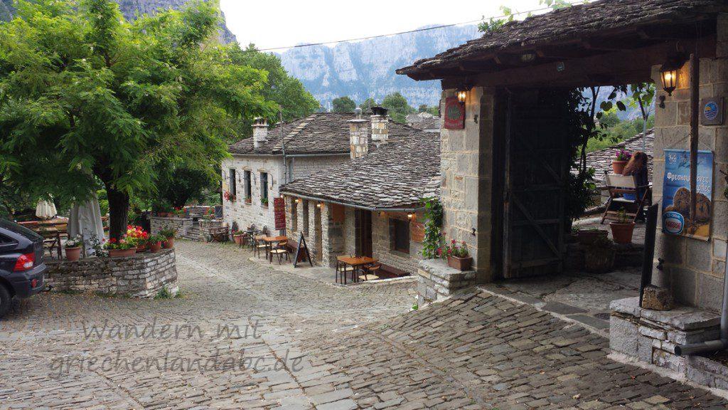 Wandern Papingo Zagoria