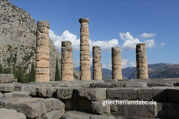 Poseidon Tempel Delphi