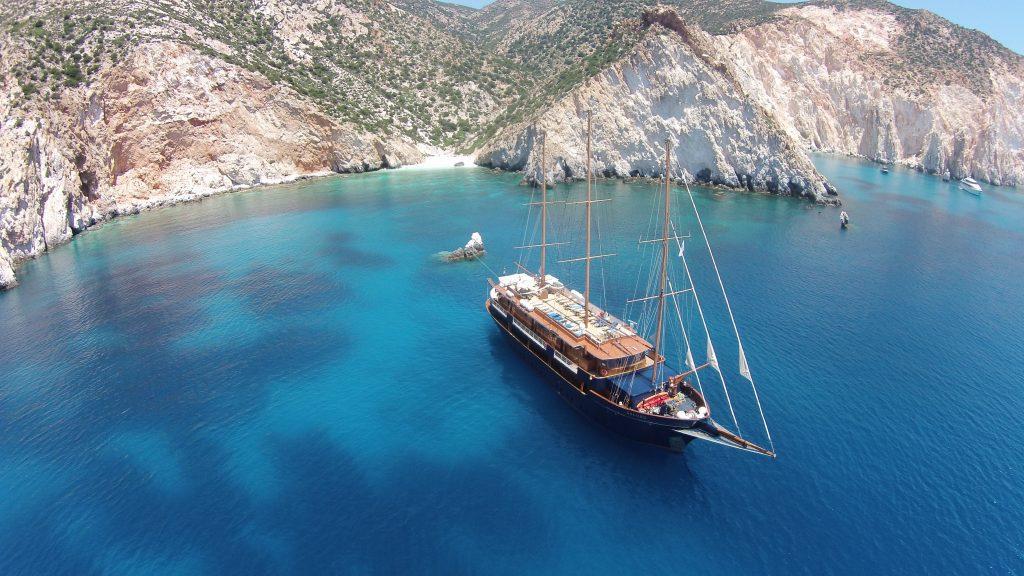 Yacht-Kreuzfahrt in Griechenland