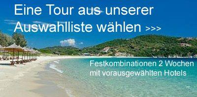 Auswahltouren für Inselhüpfen