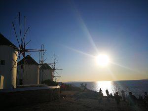 Mit Griechenland Reisen nach mykonos