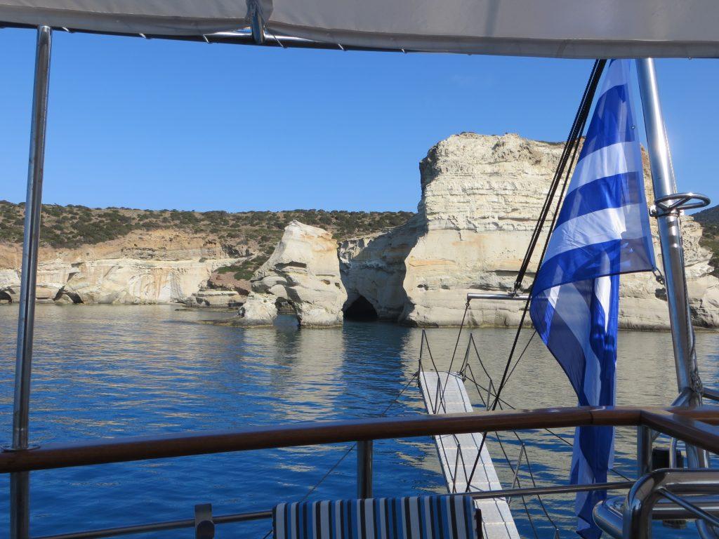Griechische Inseln Hüpfen mit Motoryacht