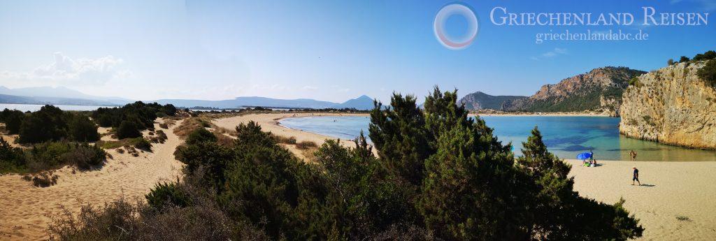 Mit Griechenlandreisen den Spuren der schönsten Strände in Griechenland