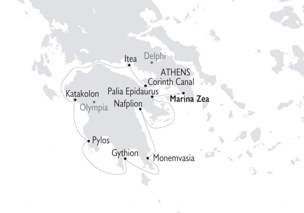 Kreuzfahrt Antike bis Byzanz Griechenland