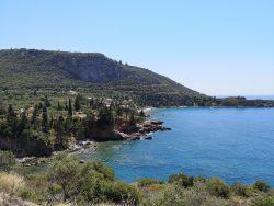 Wandern auf dem Peloponnes in Griechenland