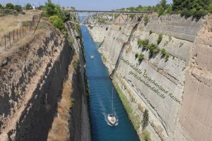 Wandern Peloponnes REgion Korinth