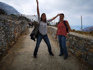 Wandern Kykladen Griechenland