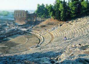 Wandern in Argolis auf Peloponnes in Griechenland