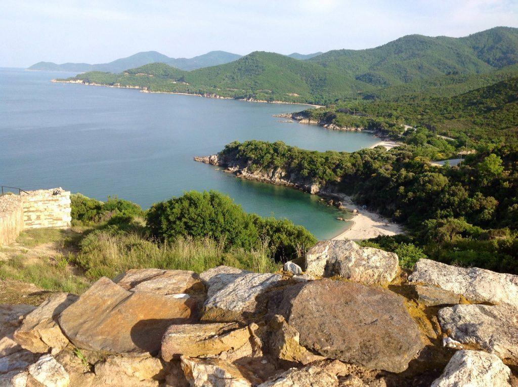 Herrliche Buchten bei Griechenlandreisen