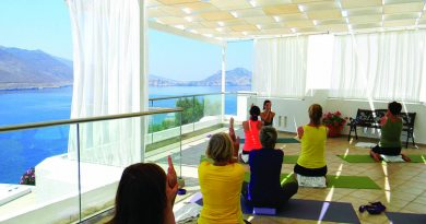Yoga Events auf Amorgos