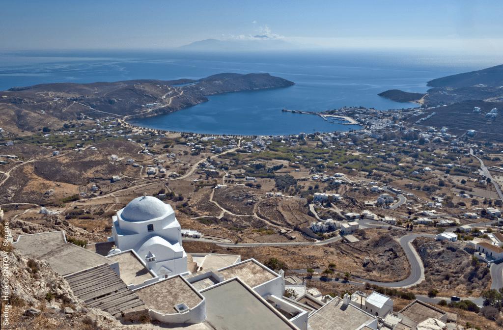 Griechenland Reisen empfiehlt die naturschöne Insel Serifos