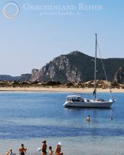 Ruhiger Strand Peloponnes